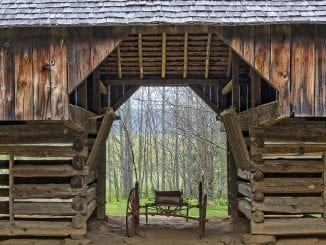 Tipton Place Barn in Cades Cove