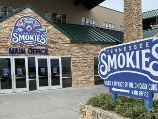 The Smokies Baseball Stadium in Kodak, TN