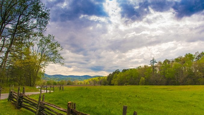 Cades Cove in the Smokies
