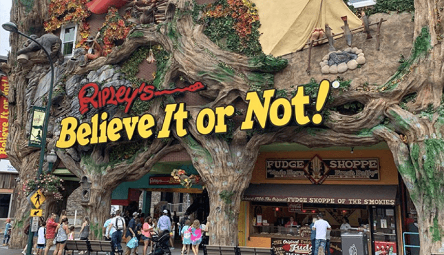 Ripley's Believe It or Not, Gatlinburg, TN
