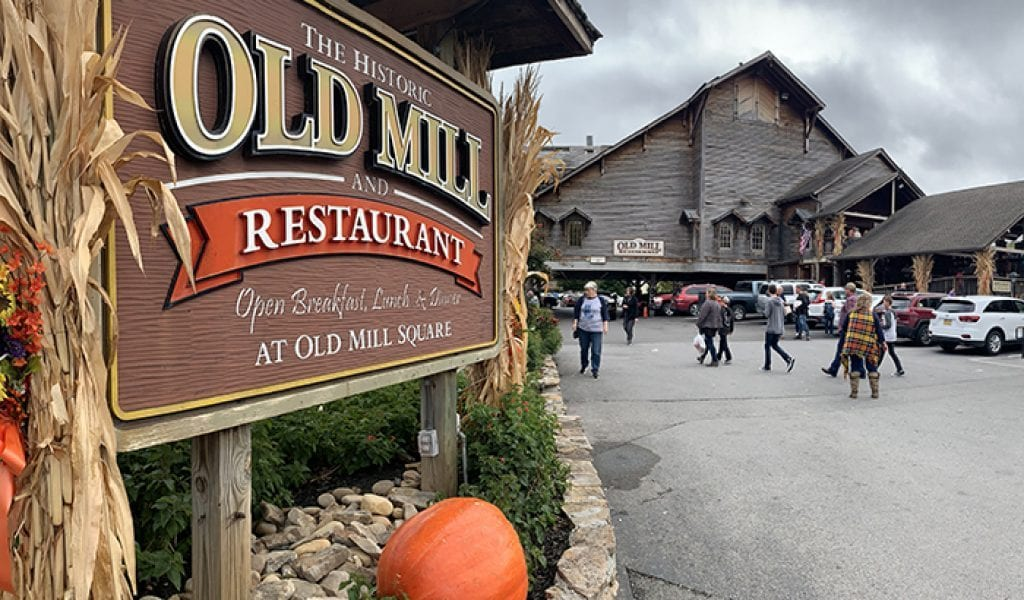 Old Mill Restaurant, Pigeon Forge TN