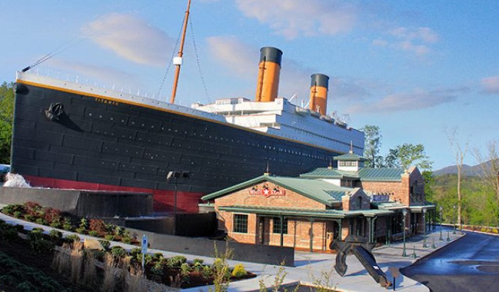 The Titanic in Pigeon Forge TN