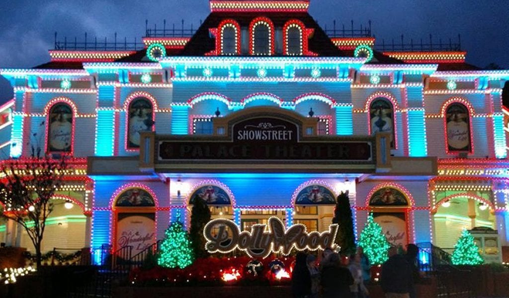 Dollywood's season concludes with the 12-time Golden Ticket winner for Best Theme Park Christmas Event, Dollywood's Smoky Mountain Christmas presented by Humana, November 14, 2020 - January 2, 2021 (photo by Laura Akens/TheSmokies.com)