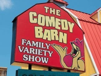 The Comedy Barn in Pigeon Forge is one of the many places in the Smokies that brings joy to our cheesy little hearts (photo by Zoe Cappello)