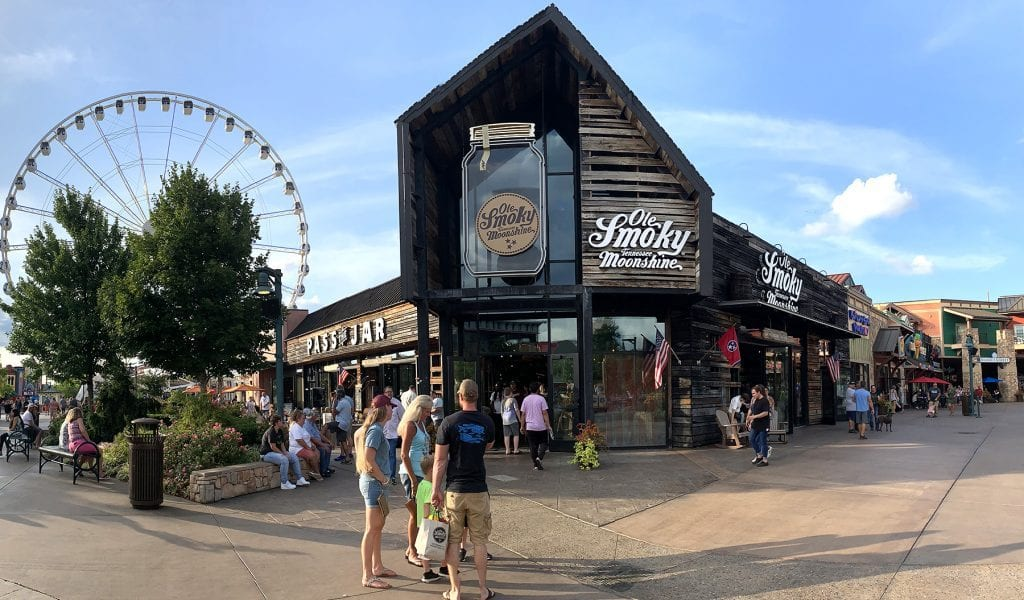 Ole Smoky in Pigeon Forge, Tennessee at The Island (photo by Morgan Overholt/TheSmokies.com)
