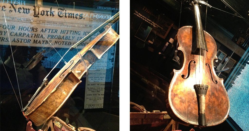 The Titanic violin is the highest price ever paid for any Titanic artifact.