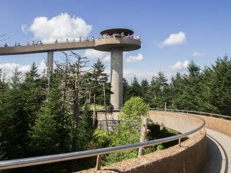 "The once described ""flashy and conspicuous"" Clingmans Dome is now one of the most beloved destinations in the Great Smoky Mountains National Park"
