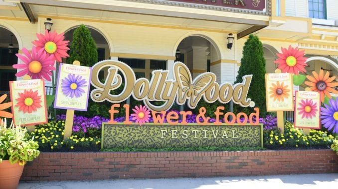 Dollywood kicked off their 2020 season with the Flower and Food Festival on June 15, 2020 (photo by Daniel Munson/TheSmokies.com)