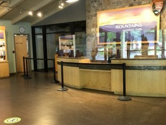 Sugarlands Visitor Center is ready to welcome back park-goers on June 8 (photo courtesy of GSMNP)