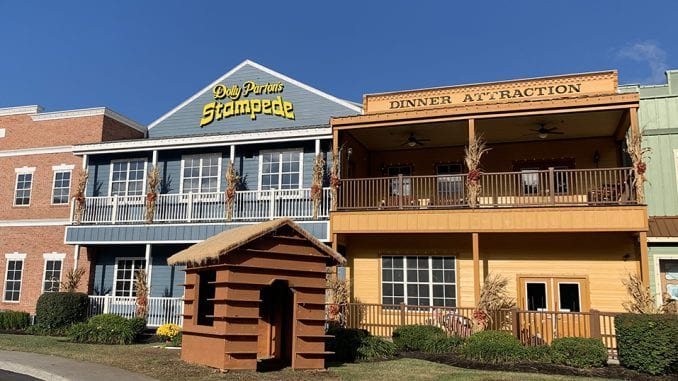 Dolly Parton's Stampede (formerly the Dixie Stampede) in Pigeon Forge, TN