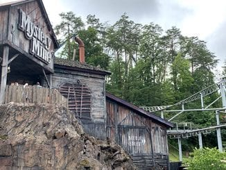 Dollywood's Mystery Mine (photo by Morgan Overholt/TheSmokies.com)