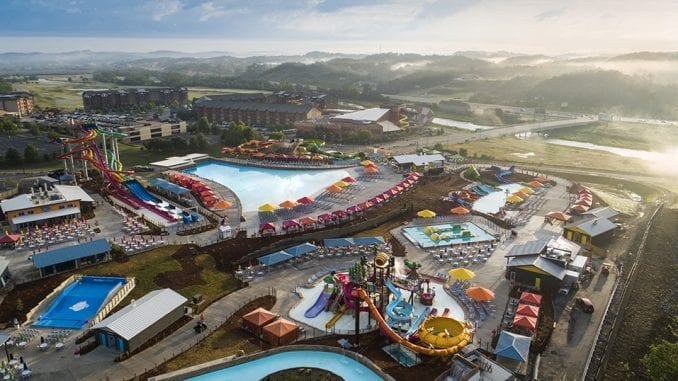 Soaky Mountain Waterpark is located at 175 Gists Creek Road, Sevierville, TN.