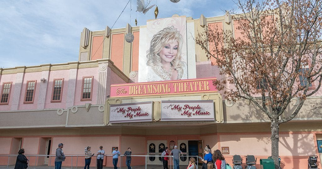 "Dolly Parton got onboard in 1986 and Silver Dollar City was renamed ""Dollywood"" (photo by Michael Gordon / Shutterstock.com)"