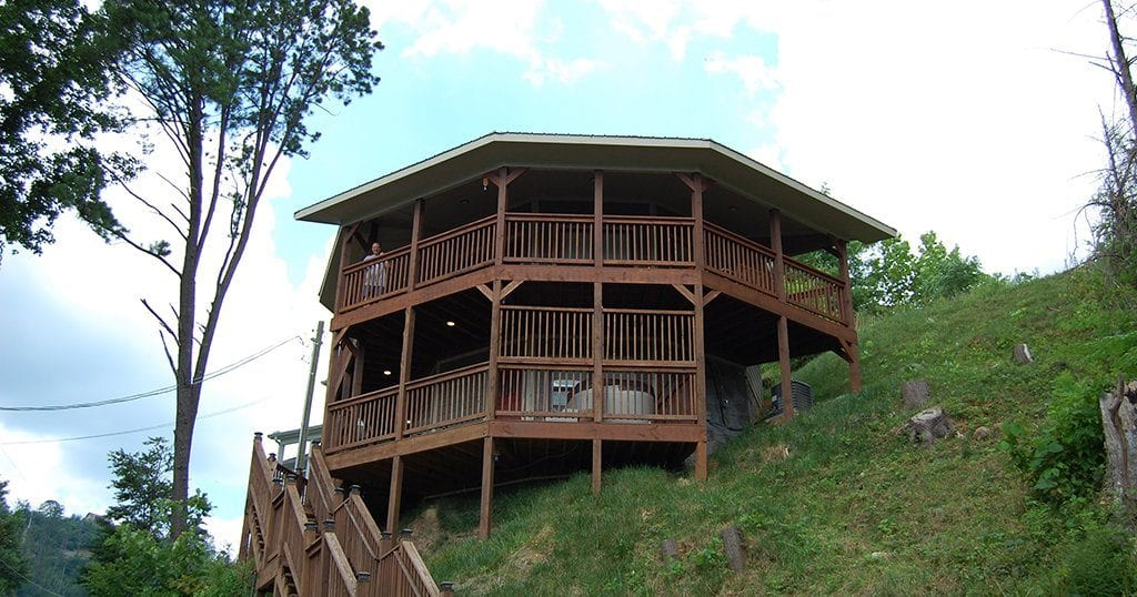 Rental cabin in Gatlinburg