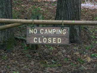 Only the Appalachian Clubhouse and group campsites will remain closed at this time, with public health in mind.