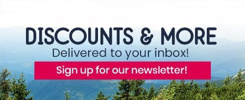 Discounts and More newsletter signup