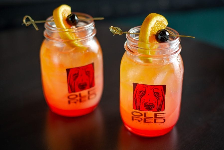The Tishomingo is one of Ole Red's signature cocktails, and named after Blake Shelton's adopted hometown of Tishomigo (photo courtesy of Ole Red)
