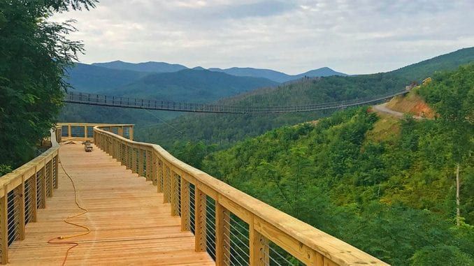 SkyLift Park's SkyTrail is set to open this fall in Gatlinburg (photo courtesy of SkyLift Park)