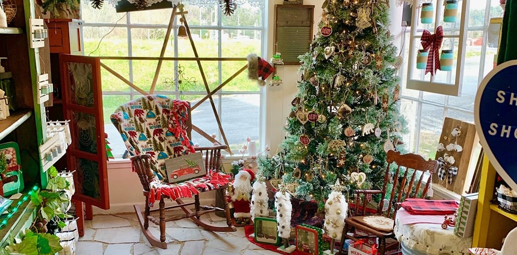 J.K. Lanier's offers a variety of locally sourced, hand-crafted souvenirs including home goods, tasty treats, soaps and holiday decor (photo contributed by J.K. Lanier's General Store)