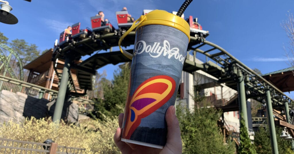 This guide answers your most burning questions about Dollywood's Souvenir Mugs (photo by Alaina O'Neal/TheSmokies.com)