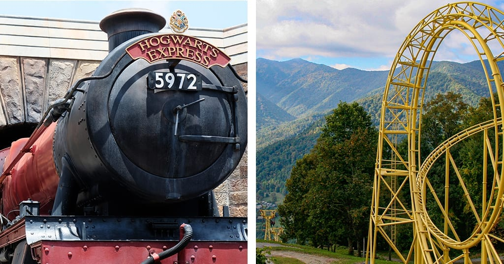 Hogwarts Express and Ghost Town